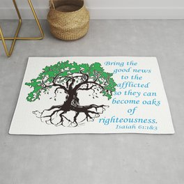 The Oak of Righteousness Rug
