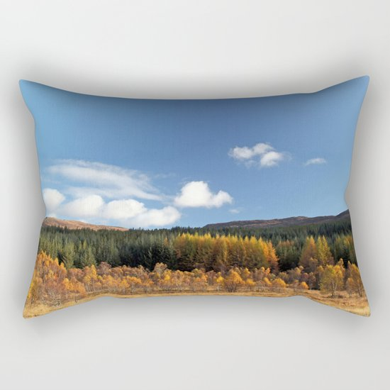 Had I the Heaven's embroidered cloths... Rectangular Pillow