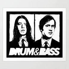 Nirvana DNB Art Print