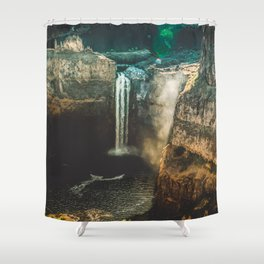 Washington Heights - nature photography Shower Curtain