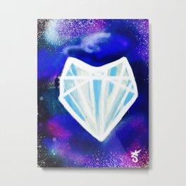 Hearts or Diamonds, I'll Take Diamonds Metal Print
