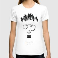 lawyer T-shirts featuring Lawyer    The world inside your head  by teokon