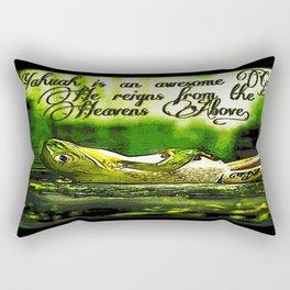 Amphibian Models: Frog Laze 01-06 Rectangular Pillow