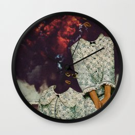 Explosions Wall Clock