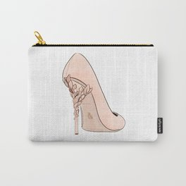 Apricot Shoe Carry-All Pouch