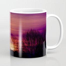 Shadows in the Purple Sky Coffee Mug
