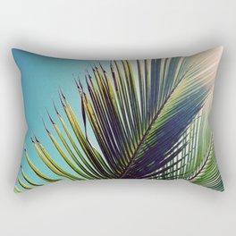 Sunny Palm Tree Rectangular Pillow
