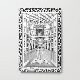 TECHOS BAJOS, POCAS PALABRAS Metal Print