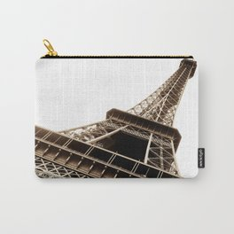 Eiffel Tower Material Carry-All Pouch