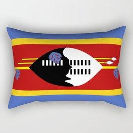 Swaziland country flag Rectangular Pillow