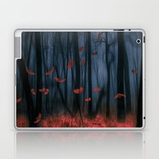 Red feather dance  (colour option) Laptop & iPad Skin