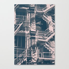 Soho Black and White Canvas Print