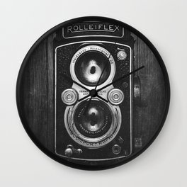 The King of Cameras - The Rolleiflex Wall Clock