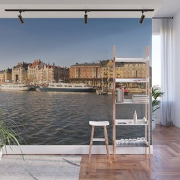 Between Sunset And Water in Stockholm Wall Mural