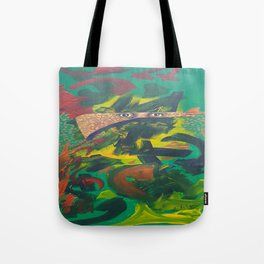 A poets mind Tote Bag