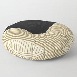Geometric in line Floor Pillow