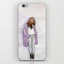 Cozy Cardigan iPhone Skin