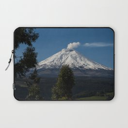 Cotopaxi Volcano in Ecuador Laptop Sleeve