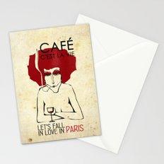 Café c'est la vie - Paris Stationery Cards