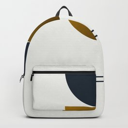 Soir 06 // ABSTRACT GEOMETRY MINIMALIST ILLUSTRATION Backpack