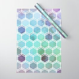 TWEEZY PATTERN OCEAN COLORS byMS Wrapping Paper