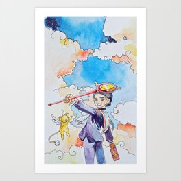 Card Captor Taehyung Art Print