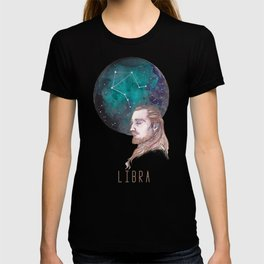Constellations - Qui Gon Jinn - Libra T-shirt