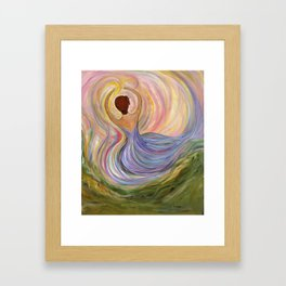 """Chasing Liberty"" Framed Art Print"