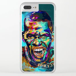 Aggression Clear iPhone Case