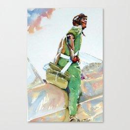 Tuskegee Airman Canvas Print