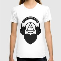 code T-shirts featuring CODE by LoveArtMusic®