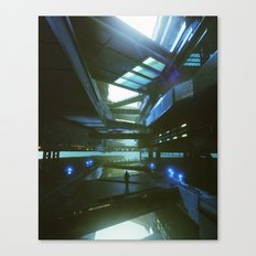 OVERPASS (everyday 03.25.16) Canvas Print