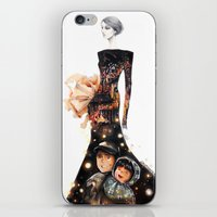 kobe iPhone & iPod Skins featuring Grave of the Fireflies by ginosunscreen
