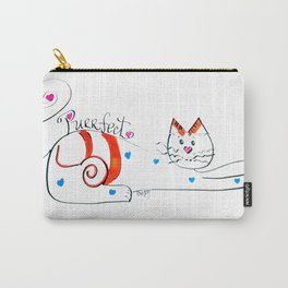 Cat Whimsey Carry-All Pouch