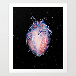 Cosmic Heart Art Print