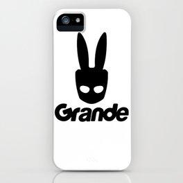 Grande Grindr Shirt iPhone Case