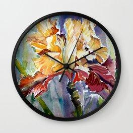 Iris Abstract Wall Clock