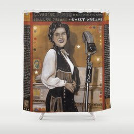 Patsy Cline Shower Curtain