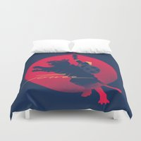 power Duvet Covers featuring Power by Dega Studios