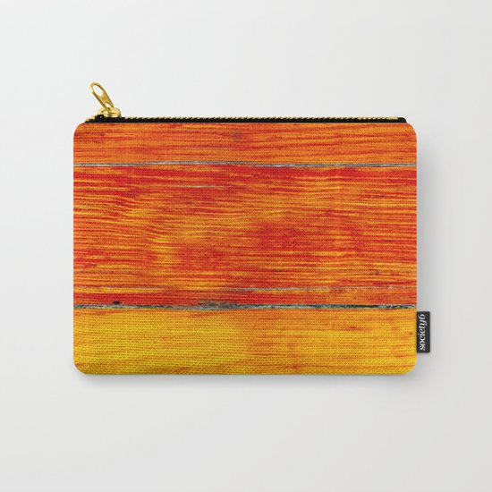 ORange wood Carry-All Pouch