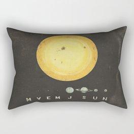 Planetary Arrangement Rectangular Pillow