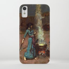 The Magic Circle John William Waterhouse Painting iPhone Case