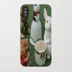 Party on the Lawn! iPhone X Slim Case