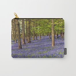 Bluebell Woods Grey's Court Oxfordshire England Carry-All Pouch