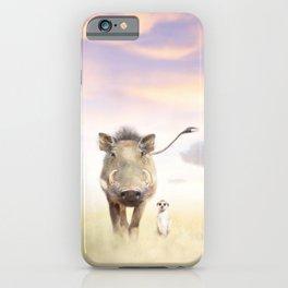 Warthog & Meerkat iPhone Case