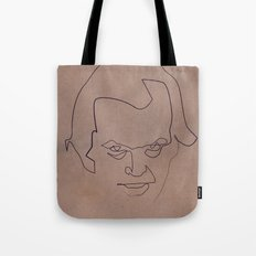 One line Shining Tote Bag