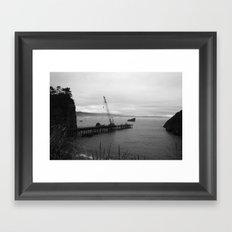 Trinidad Pier Framed Art Print
