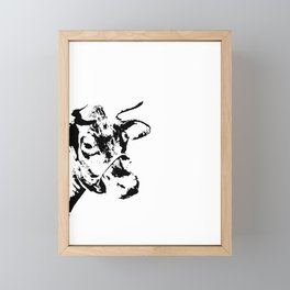 Follow the Herd - Black #229 Framed Mini Art Print