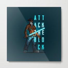Attack the Block Metal Print