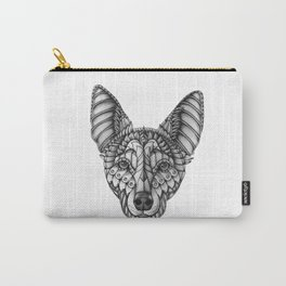 Ornate Australian Kelpie Carry-All Pouch